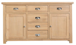 San Francisco 2 Door 6 Drawer Sideboard