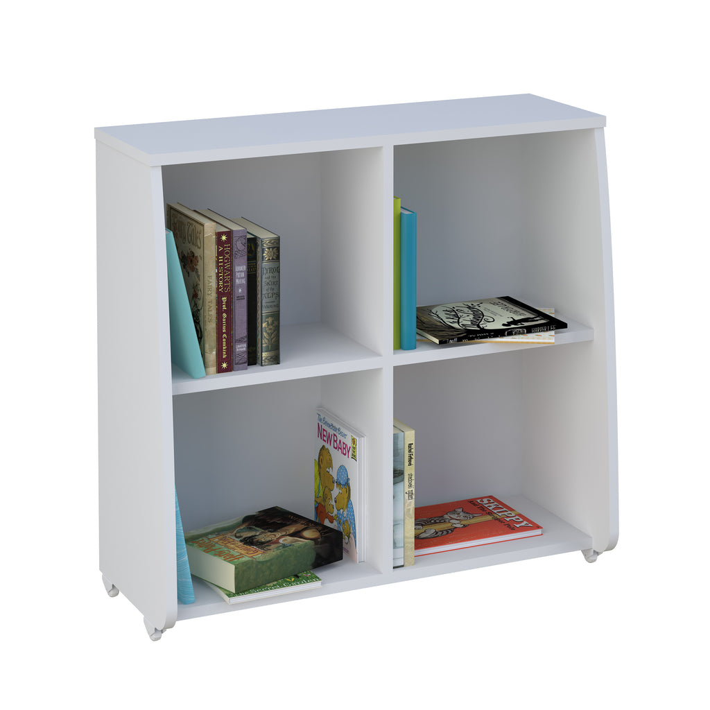 Loft Station Bookcase White