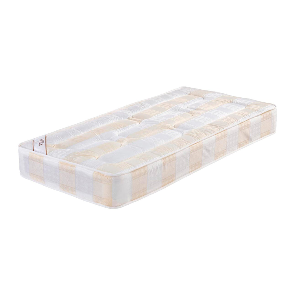 York Light Quilted Soft Medium Support Mattress