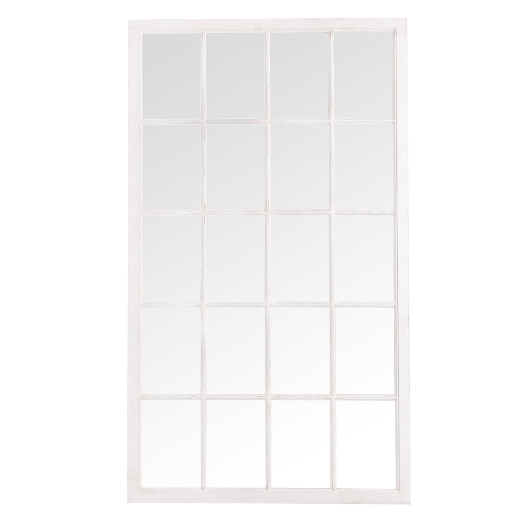 Bangkok Leaner Window Mirror White
