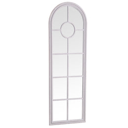 Bangkok Narrow Arched Window Mirror Grey