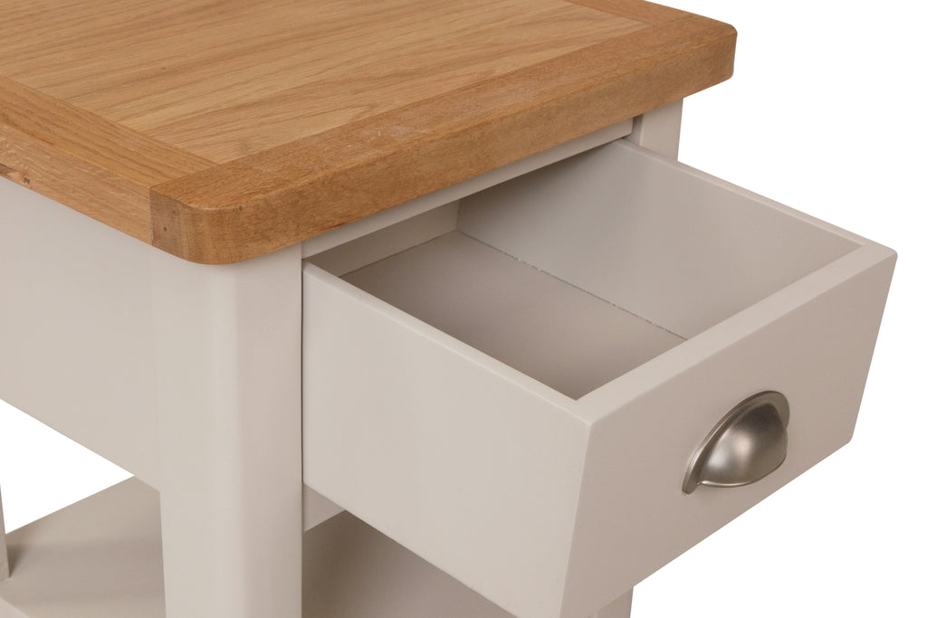 Cape Town 1 Drawer Lamp Table