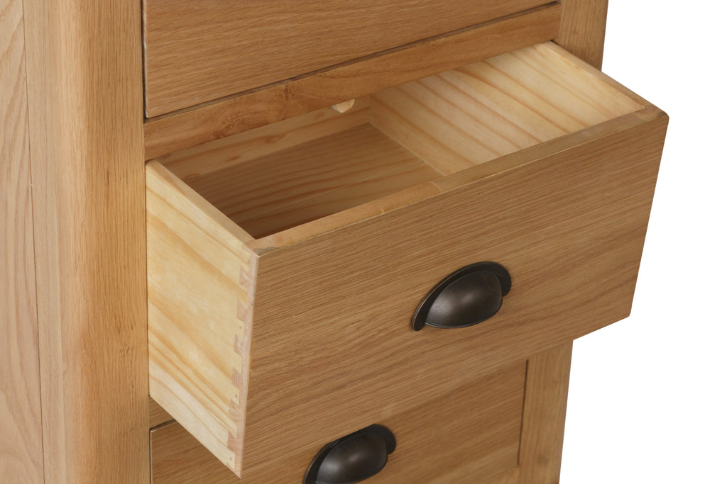 Melbourne 5 Drawer Narrow Chest