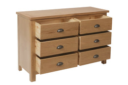 Melbourne 6 Drawer Chest