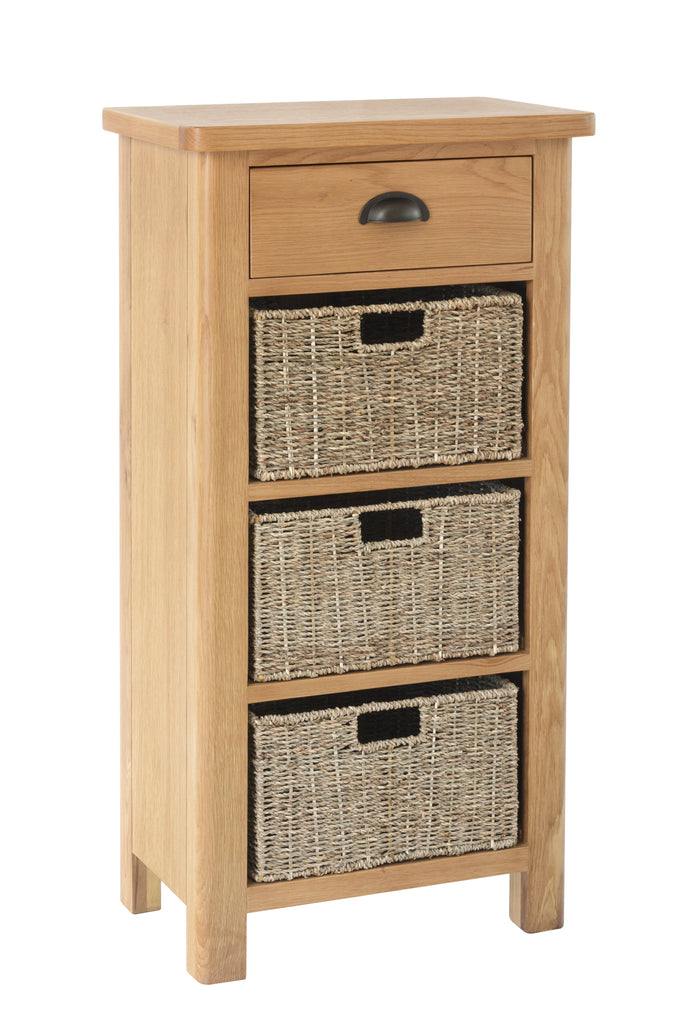 Melbourne 1 Drawer 3 Basket Unit
