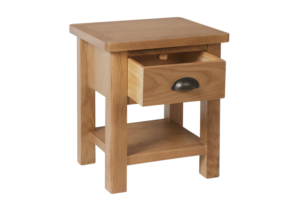 Melbourne 1 Drawer Lamp Table