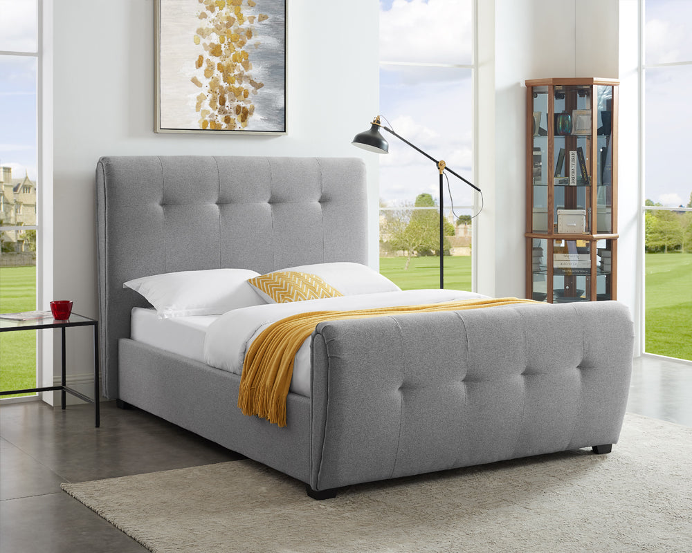 Tampa Wool Grey Bed