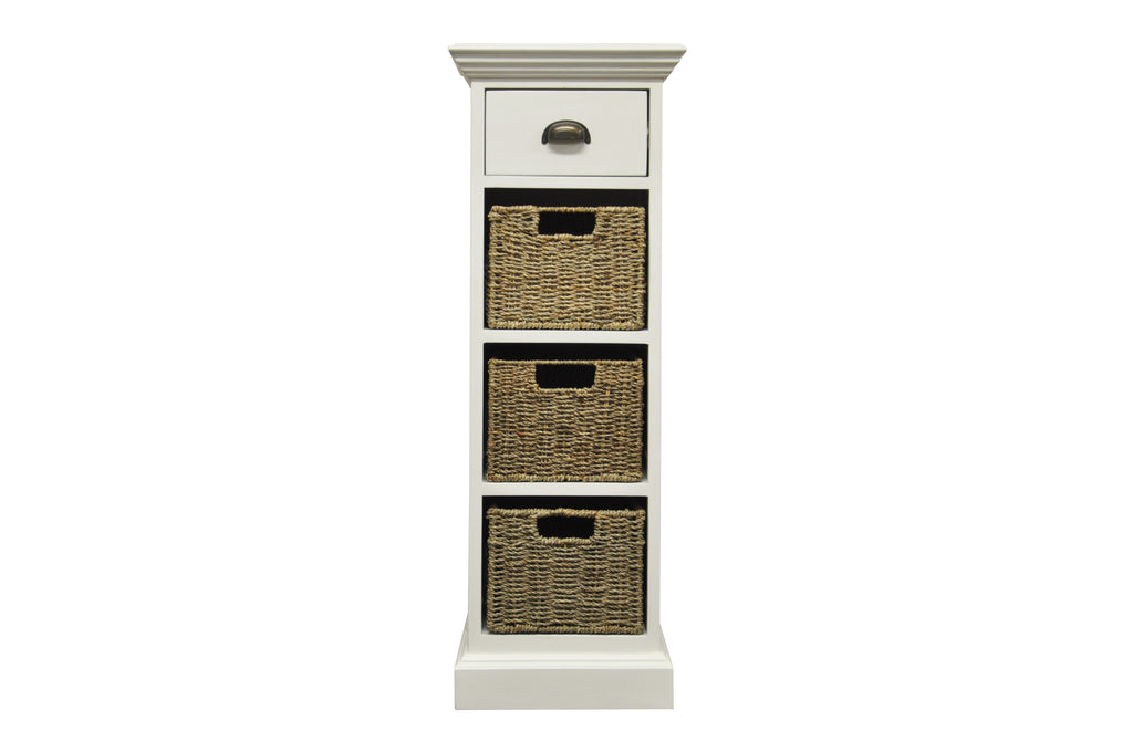 Praque 1 Drawer 3 Basket Unit