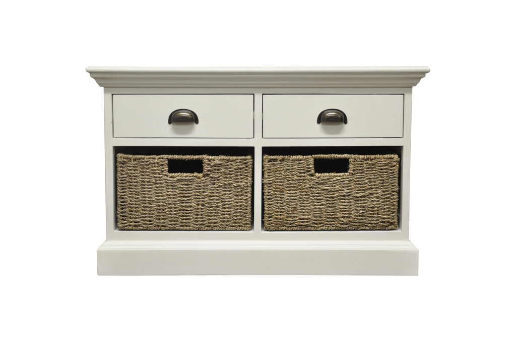 Praque 2 Drawer 2 Basket Unit