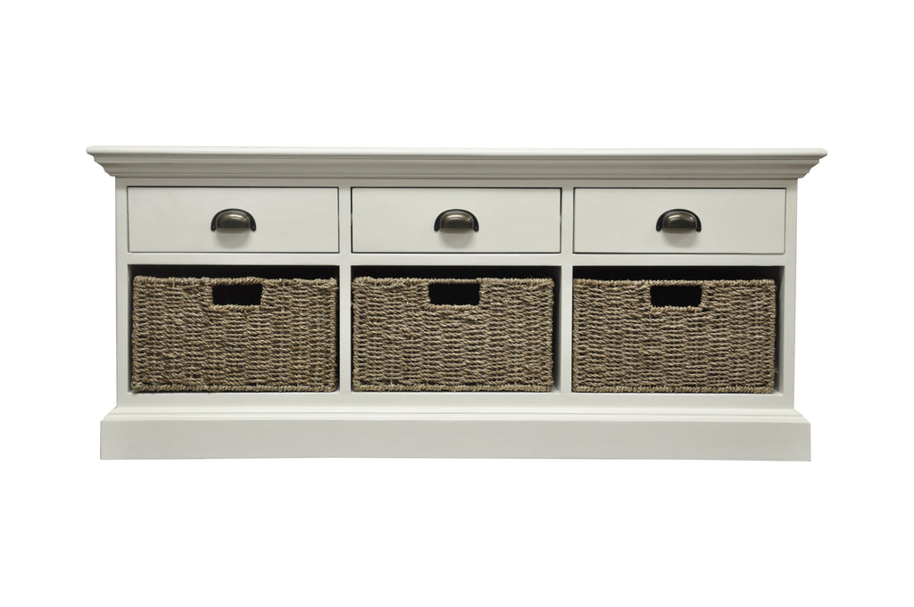 Praque 3 Drawer 3 Basket Unit