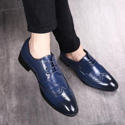 f1c927748cdea2 ... Big Size 37-48 Oxfords Leather Men Shoes Fashion Casual Pointed Top  Formal Business Male ...