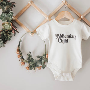 Open image in slideshow, bohemian child kids tee