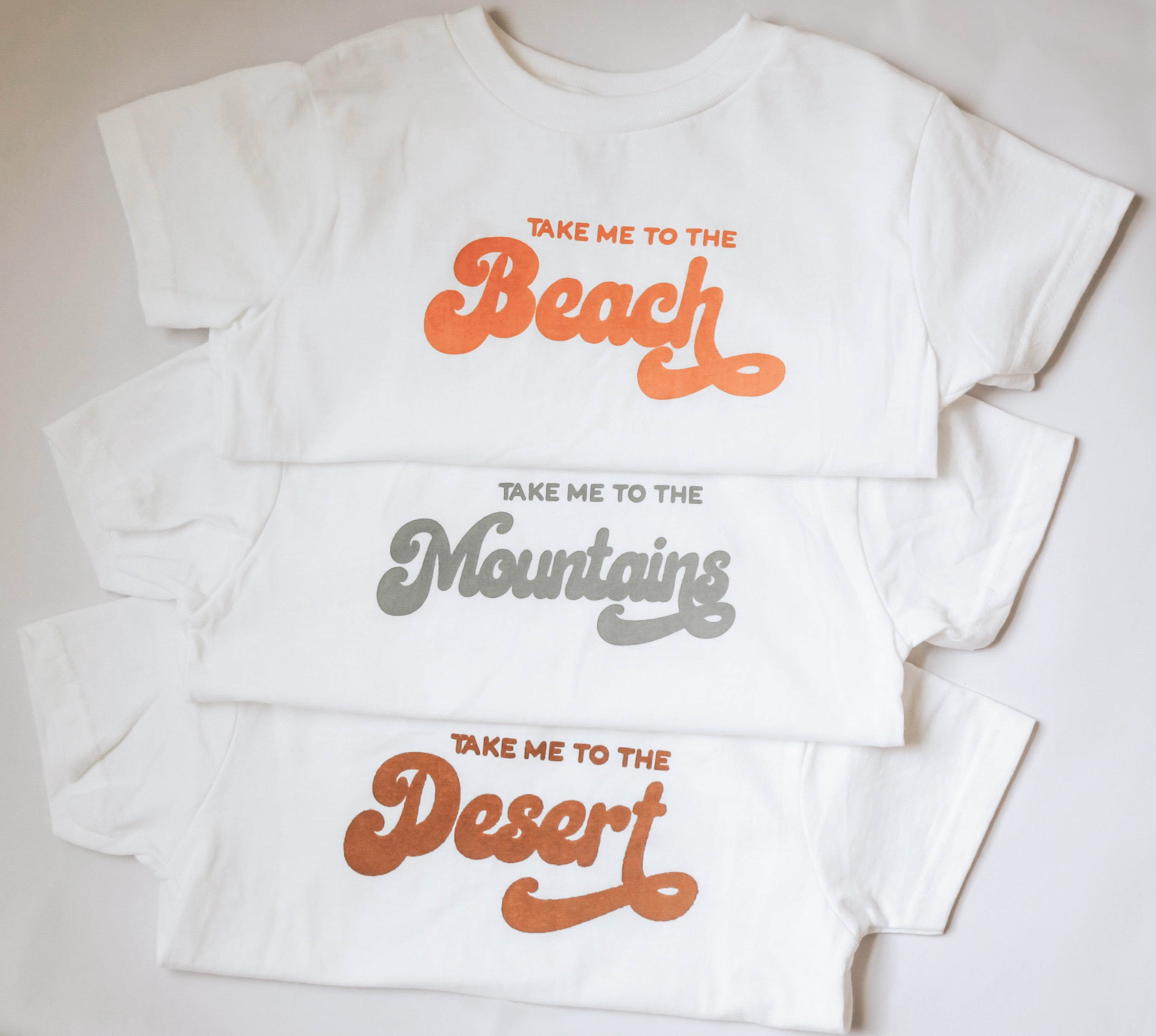 take me to the desert kids tee