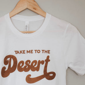 Open image in slideshow, take me to the desert women's tee