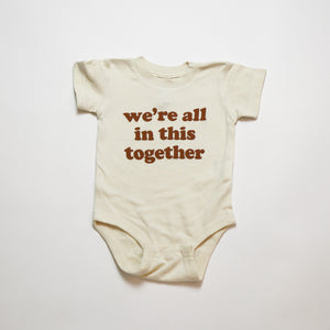 Open image in slideshow, we're all in this together kids tee