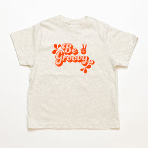 Open image in slideshow, be groovy kids tee