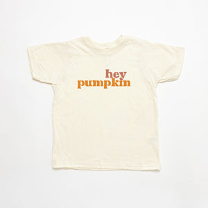 hey pumpkin kids tee