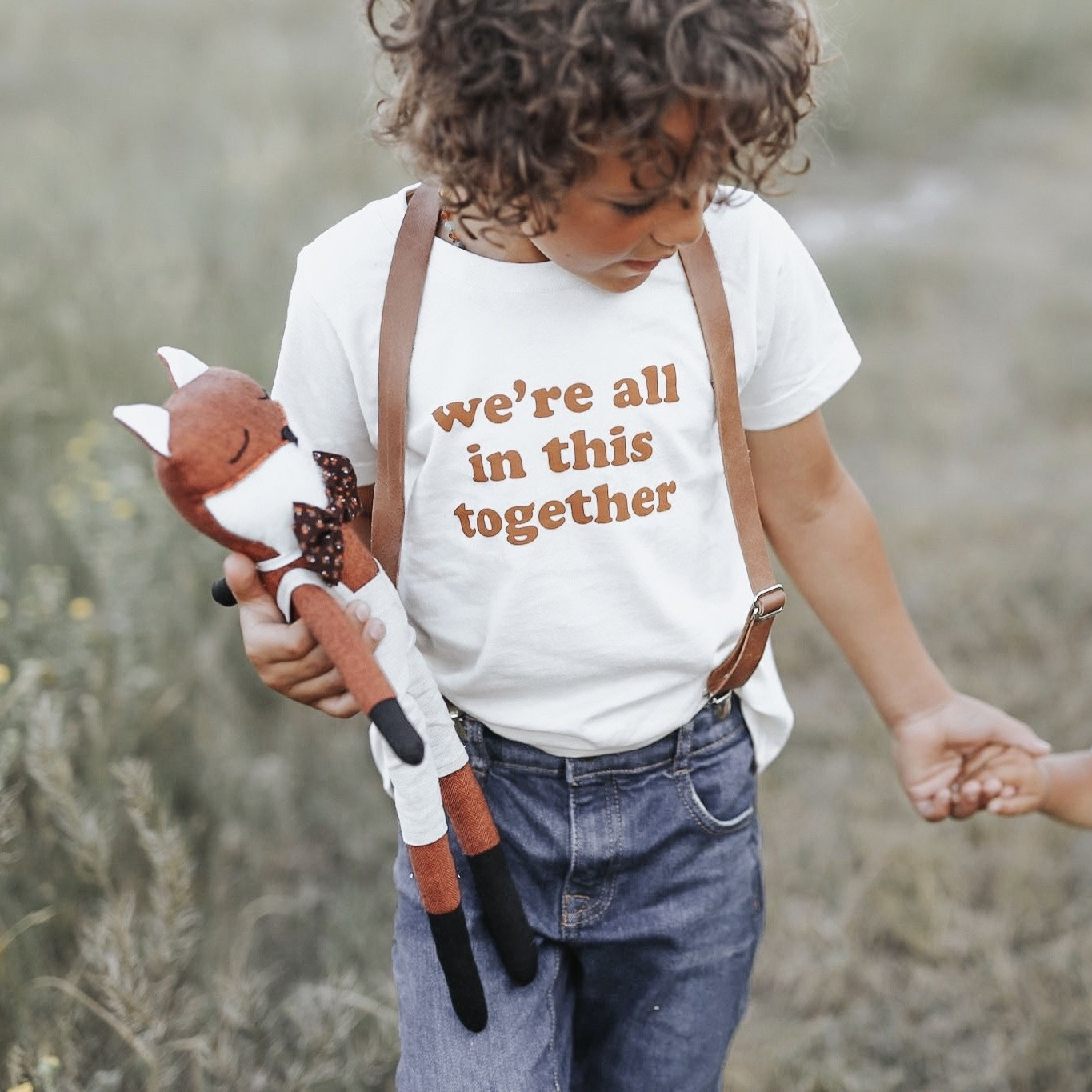 we're all in this together kids tee