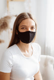 Merino wool face mask for women, men and kids