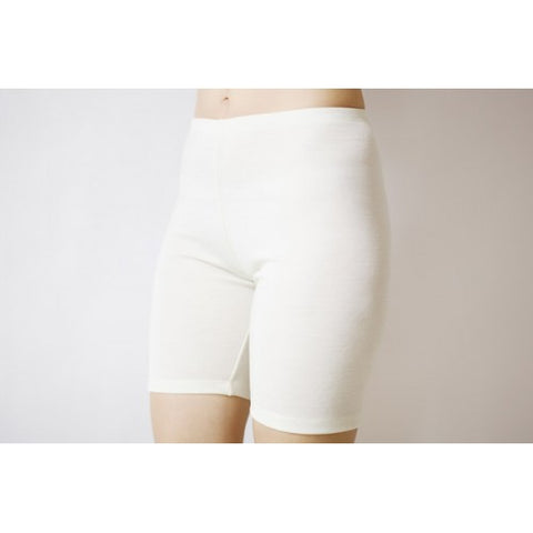 Merino wool and silk  shorts for women