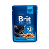 BRIT PREMIUM CAT POUCH WITH CHICKEN CHUNKS FOR KITTENS 100g