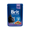 BRIT PREMIUM CAT POUCH WITH COD FISH FOR ADULT CATS 100g