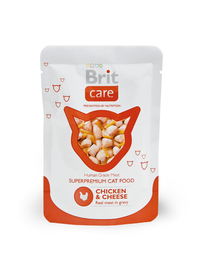 BRIT CARE CAT POUCH 80g MIXABLE 24 PACKET