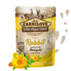 CARNILOVE CAT POUCH RICH IN RABBIT ENRICHED WITH MARIGOLD 85g