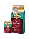 CARNILOVE FRESH CARP & TROUT FOR ADULT CATS GRAIN FREE CAT DRY FOOD