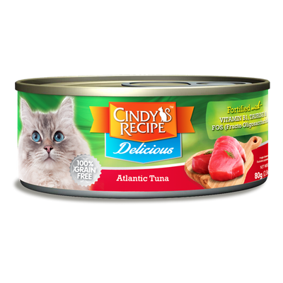 CINDY'S RECIPE DELICIOUS WET CAT FOOD MIXABLE 24 CANS