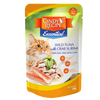 CINDY'S RECIPE ESSENTIAL WILD TUNA WITH CRAB SURIMI CAT POUCH 70g