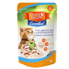 CINDY'S RECIPE ESSENTIAL TUNA WITH GOAT MILK IN MOUSSE FOR KITTEN CAT POUCH 70g