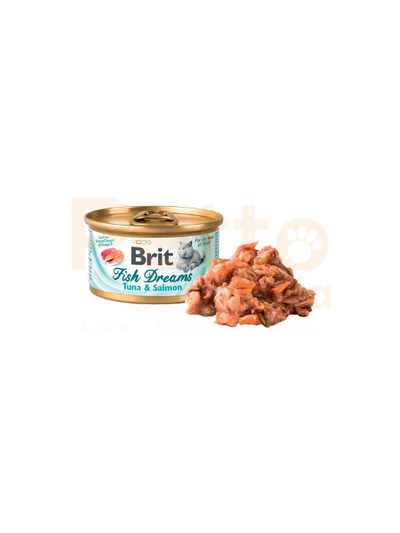 BRIT CARE WET CANNED CAT FOOD MIXABLE 24 CANS