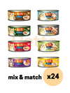 CINDY'S RECIPE ORIGINAL WET CAT FOOD MIXABLE 24 CANS