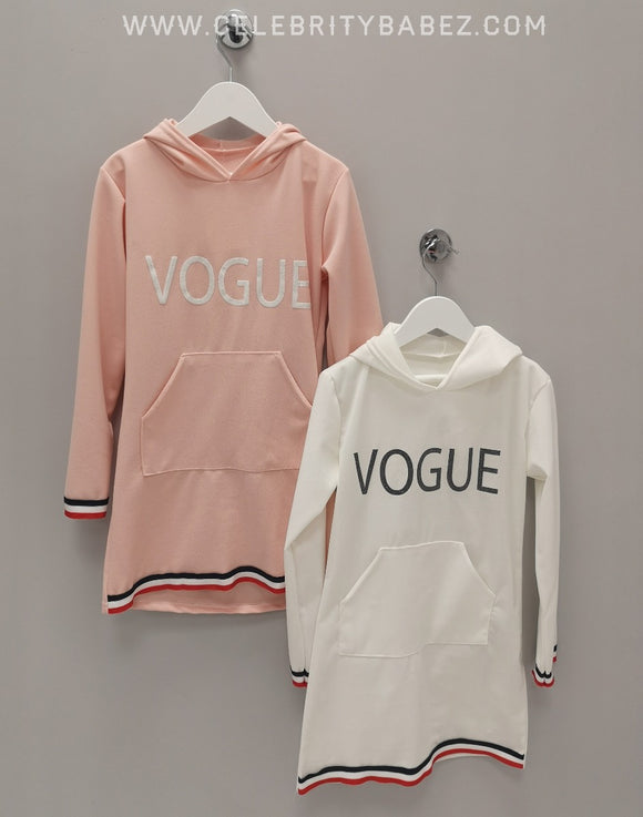 Vogue Hoody In White