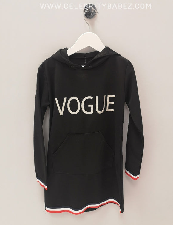 Vogue Hoody In Black
