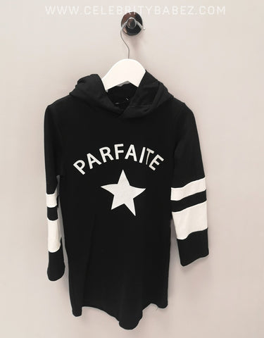 Parfait Logo Hoody In Black
