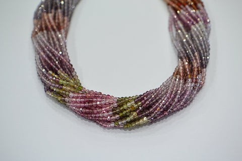 Cinebling Birthstone Blog Multi Coloured Spinel Strands