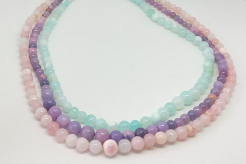 Cinebling Birthstone Blog Mulicoloured Opal Strands