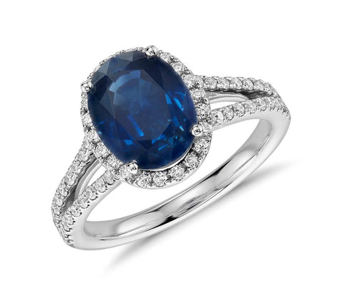 Cinebling Birthstone Blog September Sapphire Engagement Ring