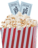 Cinebling Popcorn with Movie Tickets