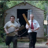 Shaun of the Dead - Shaun and Ed prepare for zombie battle