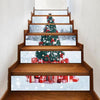 3D Christmas Stair Stickers (6 Pcs)