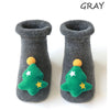 Non-slip Cotton Baby Silicone Socks for Christmas