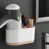 Multi-Functional Wall Mount Hair Dryer Rack