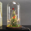 Glass Cover Fairy Light Christmas Tree