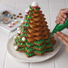 Star-shape Christmas Tree Biscuit Baking Molds(10 Pcs Set)