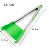 2 in 1 Kitchen Spatula and Tongs