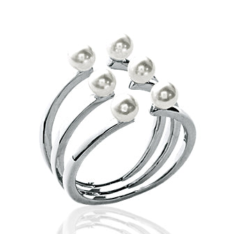 6 Pearls Ring - Fifi Ange