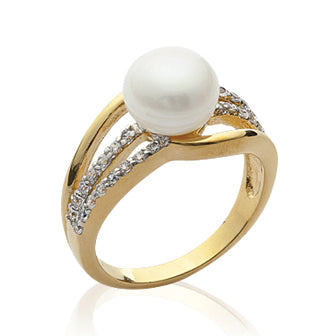 Gold Split Ring - Fifi Ange